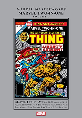 Marvel Two-In-One Masterworks Tome 2