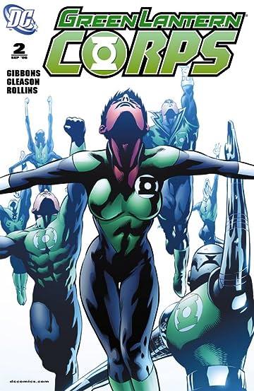 Green Lantern Corps (2006-2011) #2