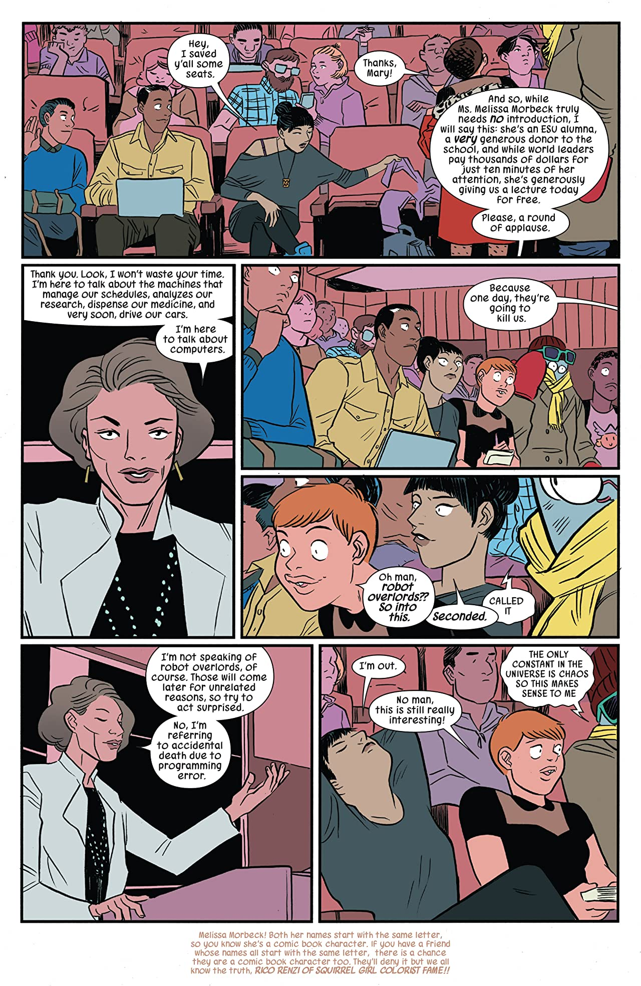 The Unbeatable Squirrel Girl Vol. 6: Who Run The World? Squirrels