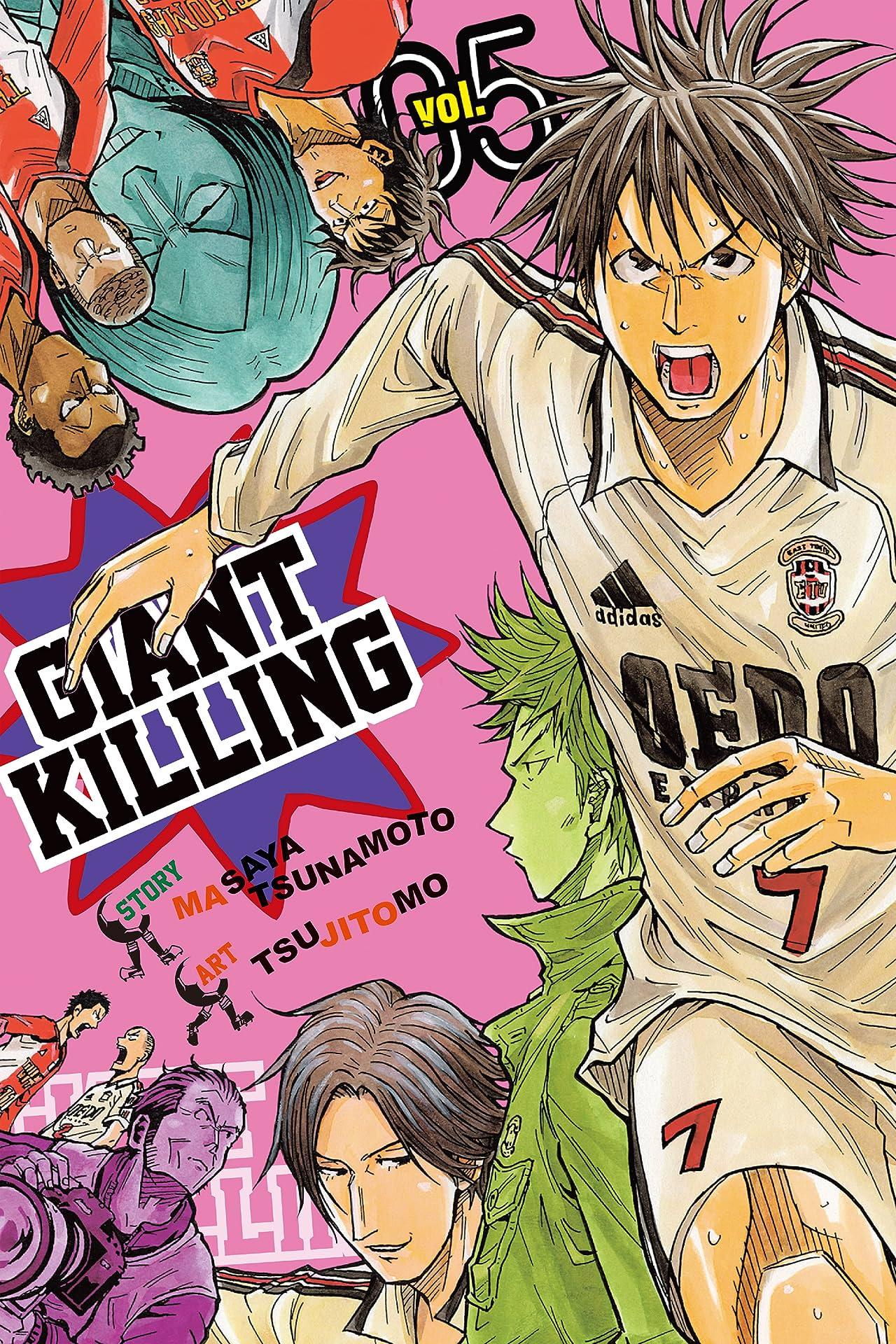 Giant Killing Vol. 5