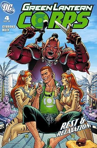 Green Lantern Corps (2006-2011) #4