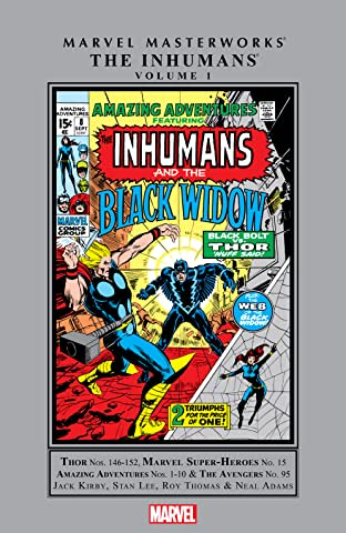 Inhumans Masterworks Vol. 1