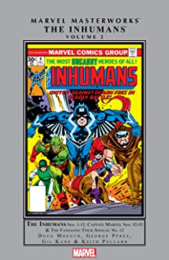 Inhumans Masterworks Vol. 2