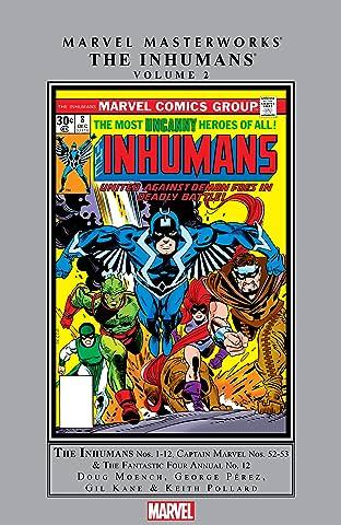 Inhumans Masterworks Tome 2