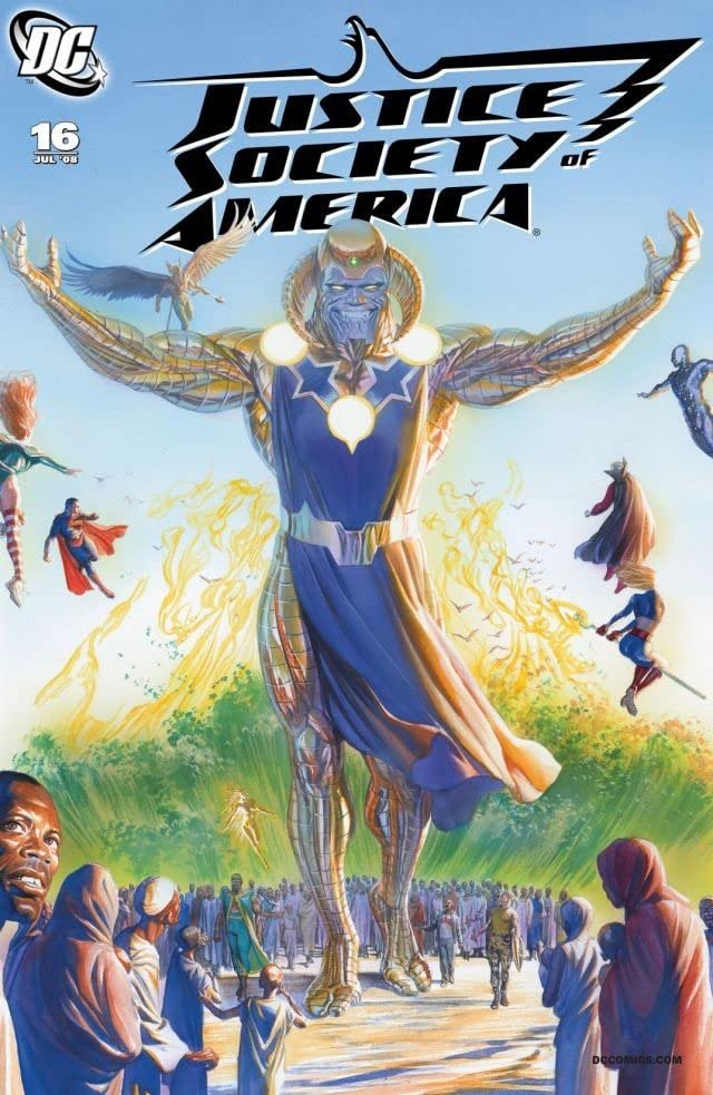 Justice Society of America (2007-2011) #16