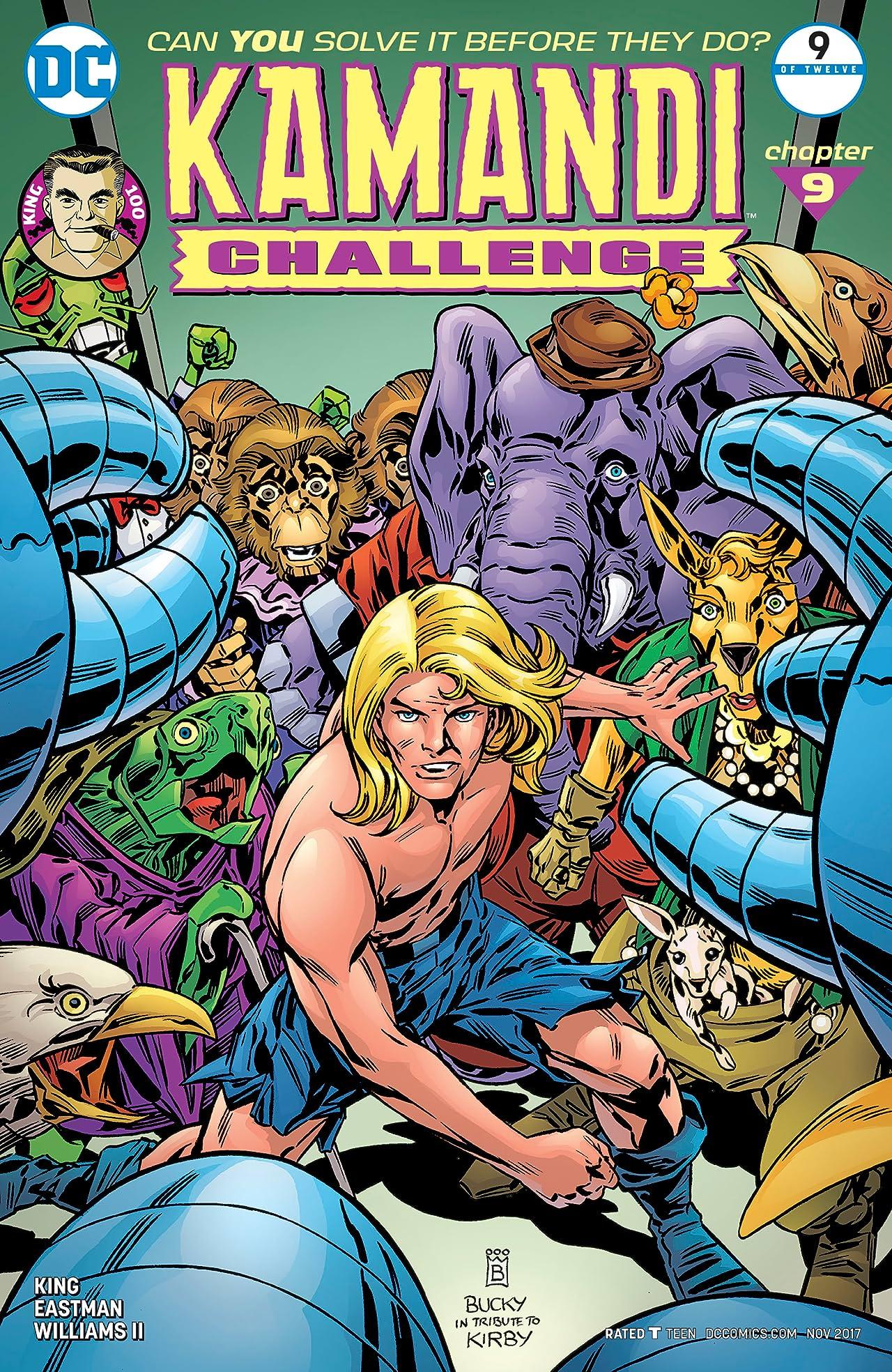 The Kamandi Challenge (2017) #9