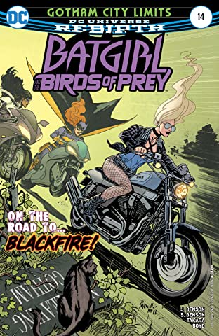 Batgirl and the Birds of Prey (2016-2018) No.14