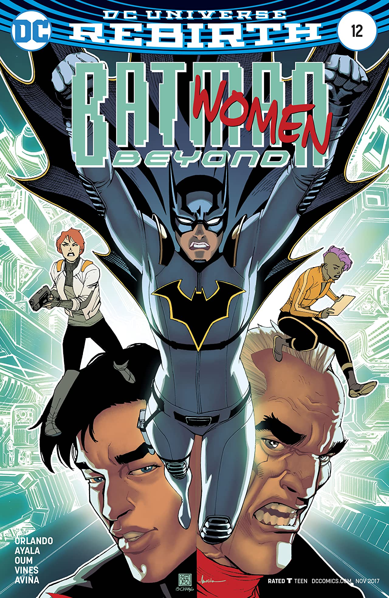 Batman Beyond (2016-) #12