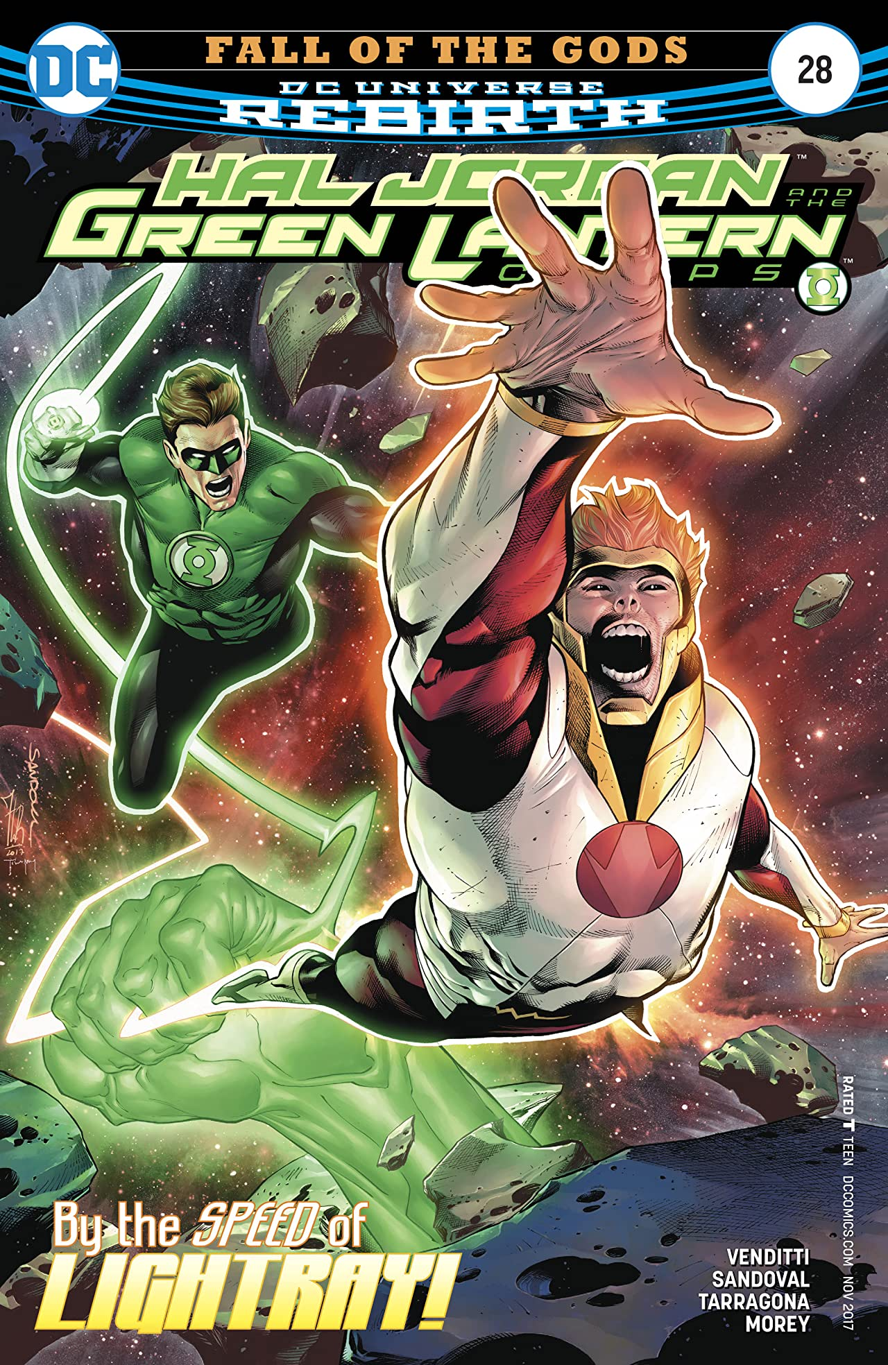 Hal Jordan and The Green Lantern Corps (2016-) #28
