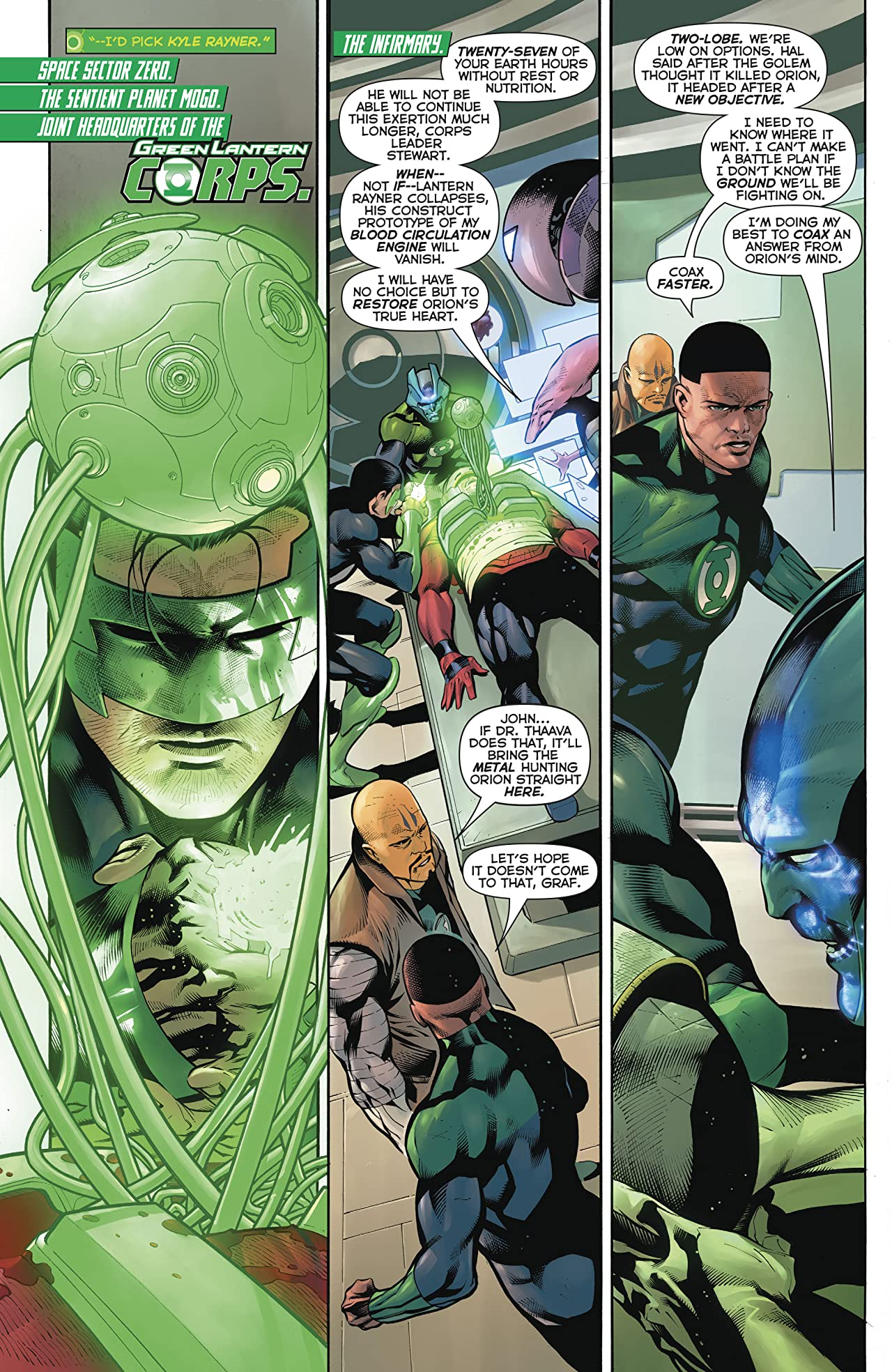 Hal Jordan and The Green Lantern Corps (2016-) #29