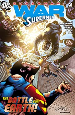 Superman: War of the Supermen #3 (of 4)