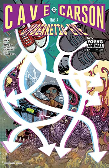 Cave Carson Has a Cybernetic Eye (2016-) #12
