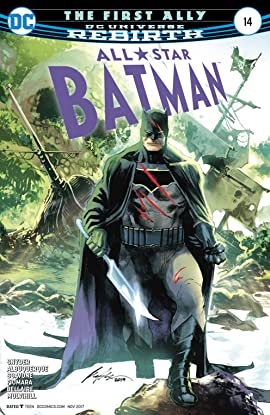 All-Star Batman (2016-2017) #14