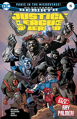 Justice League of America (2017-2018) #15