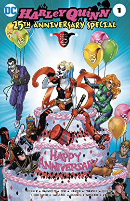 Harley Quinn 25th Anniversary Special (2017) #1