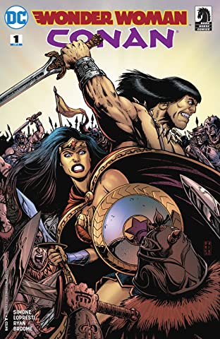 Wonder Woman/Conan (2017-2018) #1