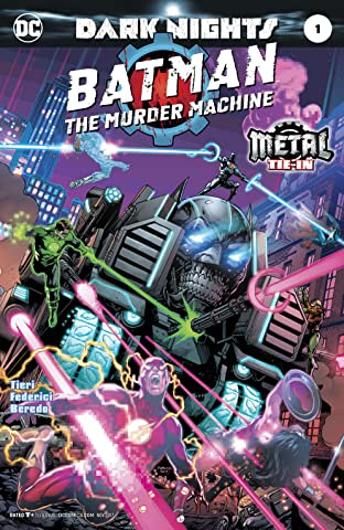 Batman: The Murder Machine (2017) #1