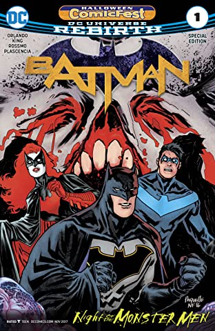 Batman Halloween Comic Fest Special Edition (2017) No.1
