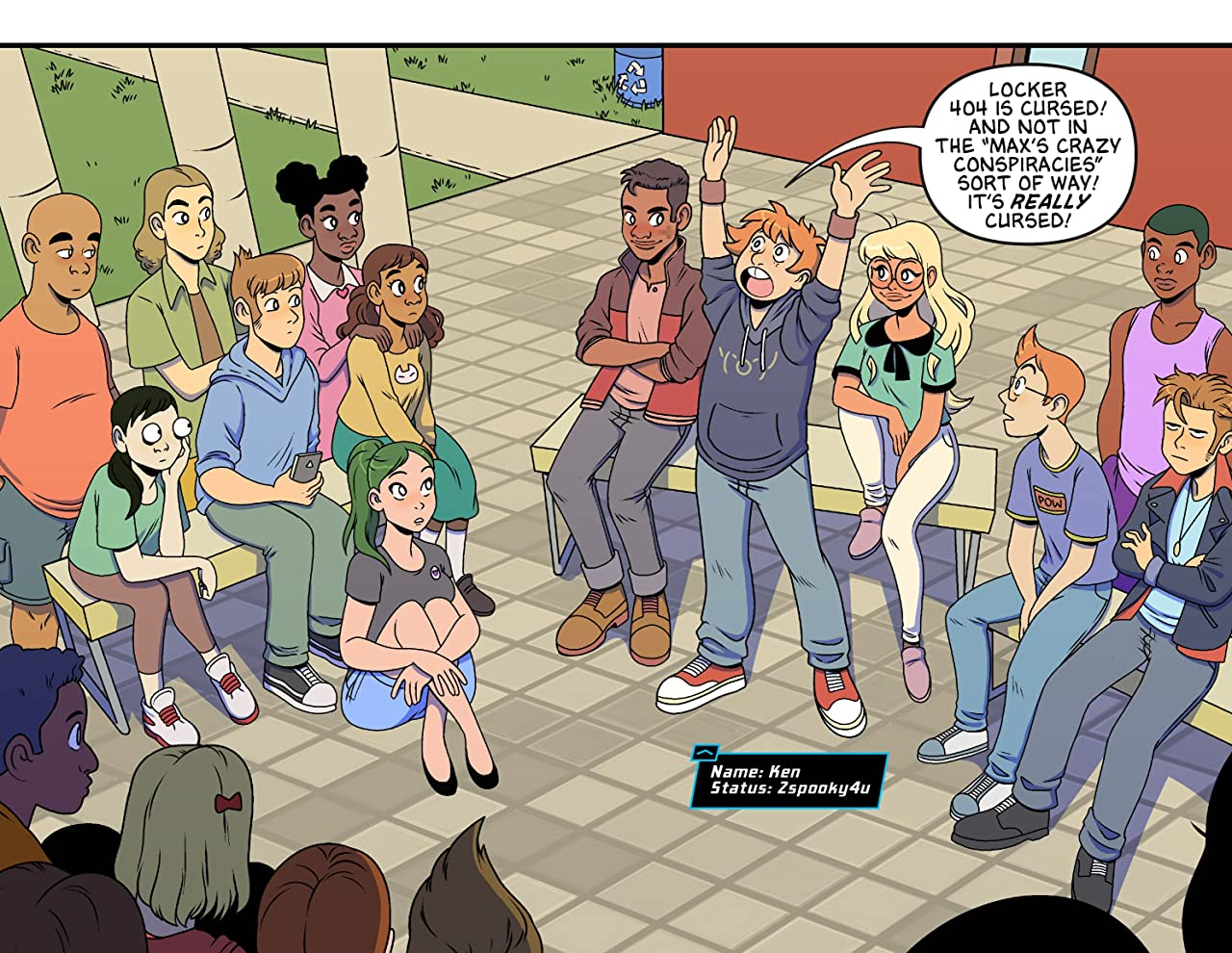 Uncanny Valley High #4