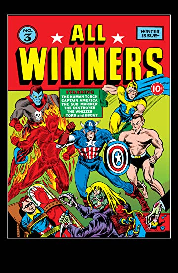 All-Winners Comics (1941-1946) #3