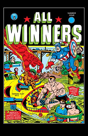 All-Winners Comics (1941-1946) #5