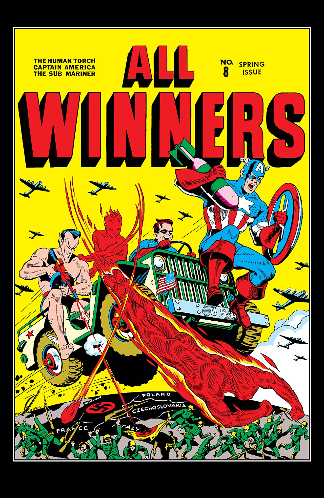 All-Winners Comics (1941-1946) #8