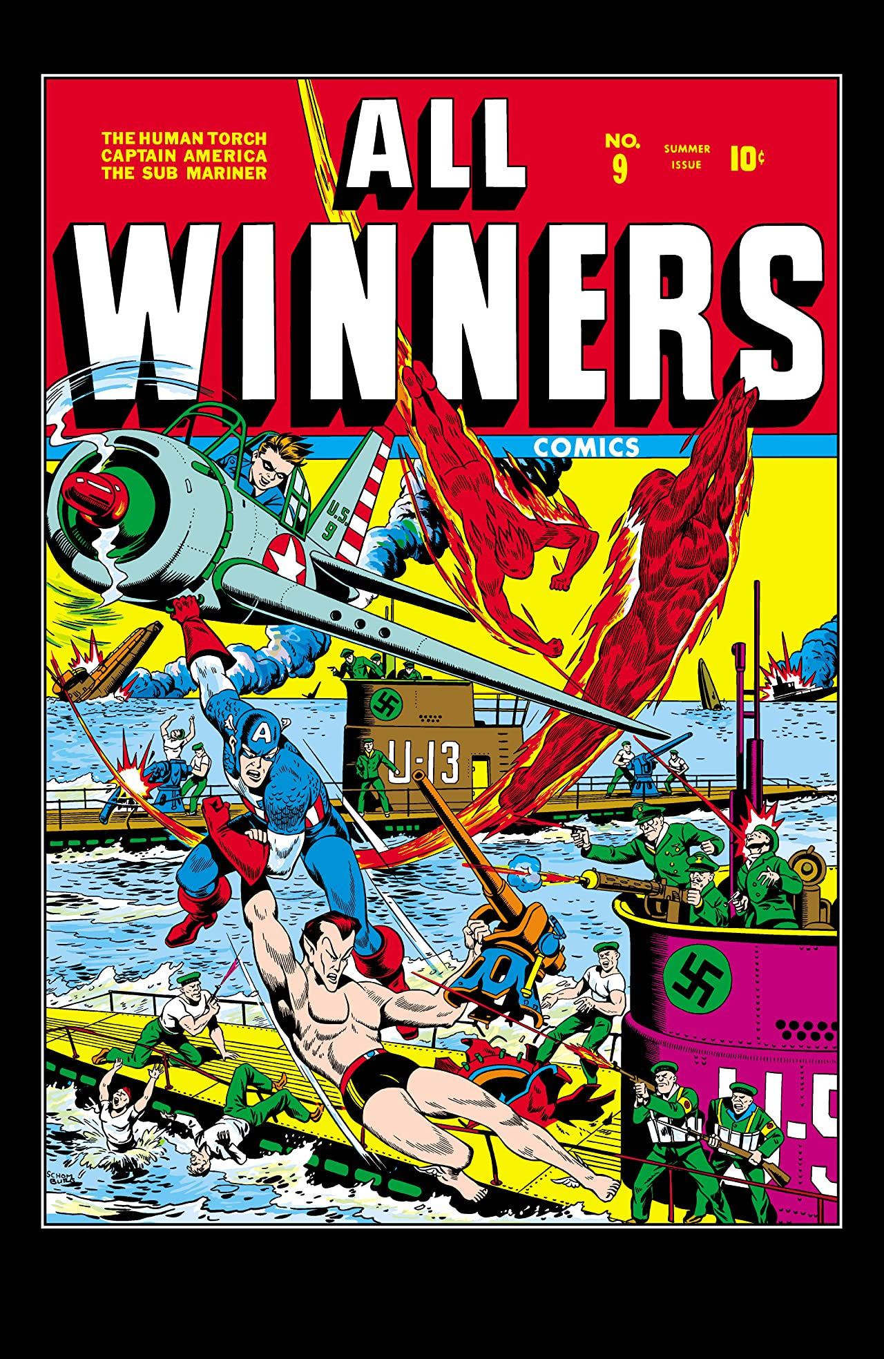 All-Winners Comics (1941-1946) #9