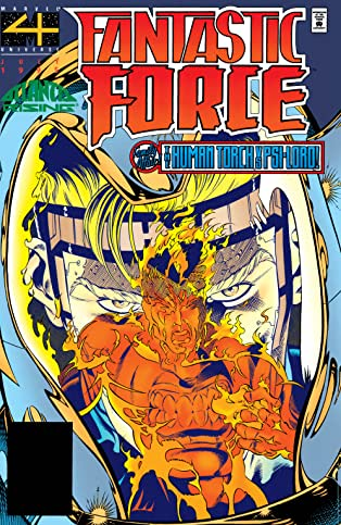 Fantastic Force (1994-1996) #9