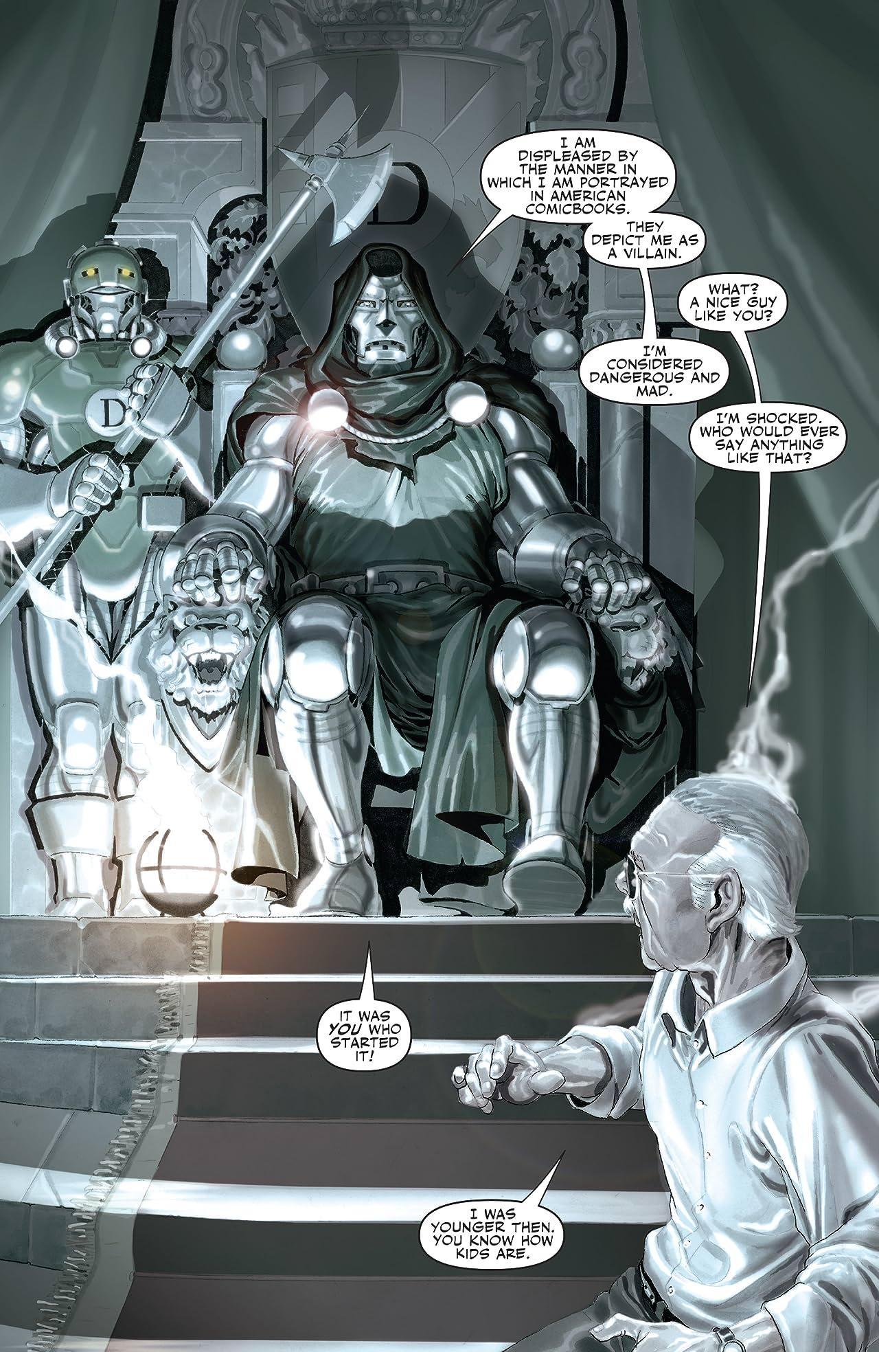Stan Lee Meets Dr. Doom (2006) #1