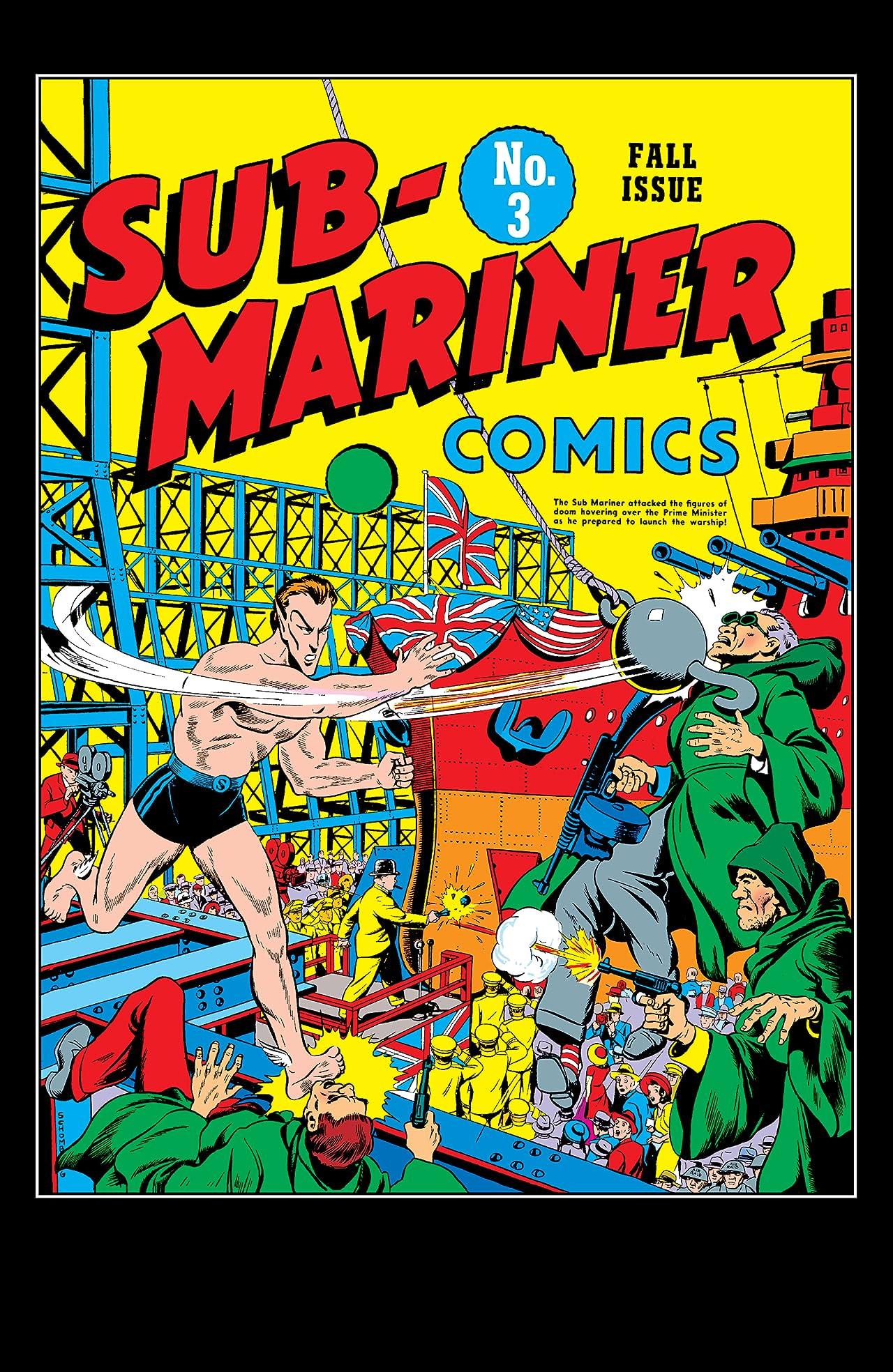 Sub-Mariner Comics (1941-1949) #3