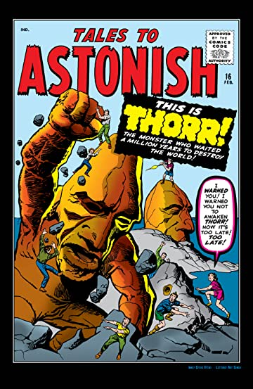 Tales to Astonish (1959-1968) #16