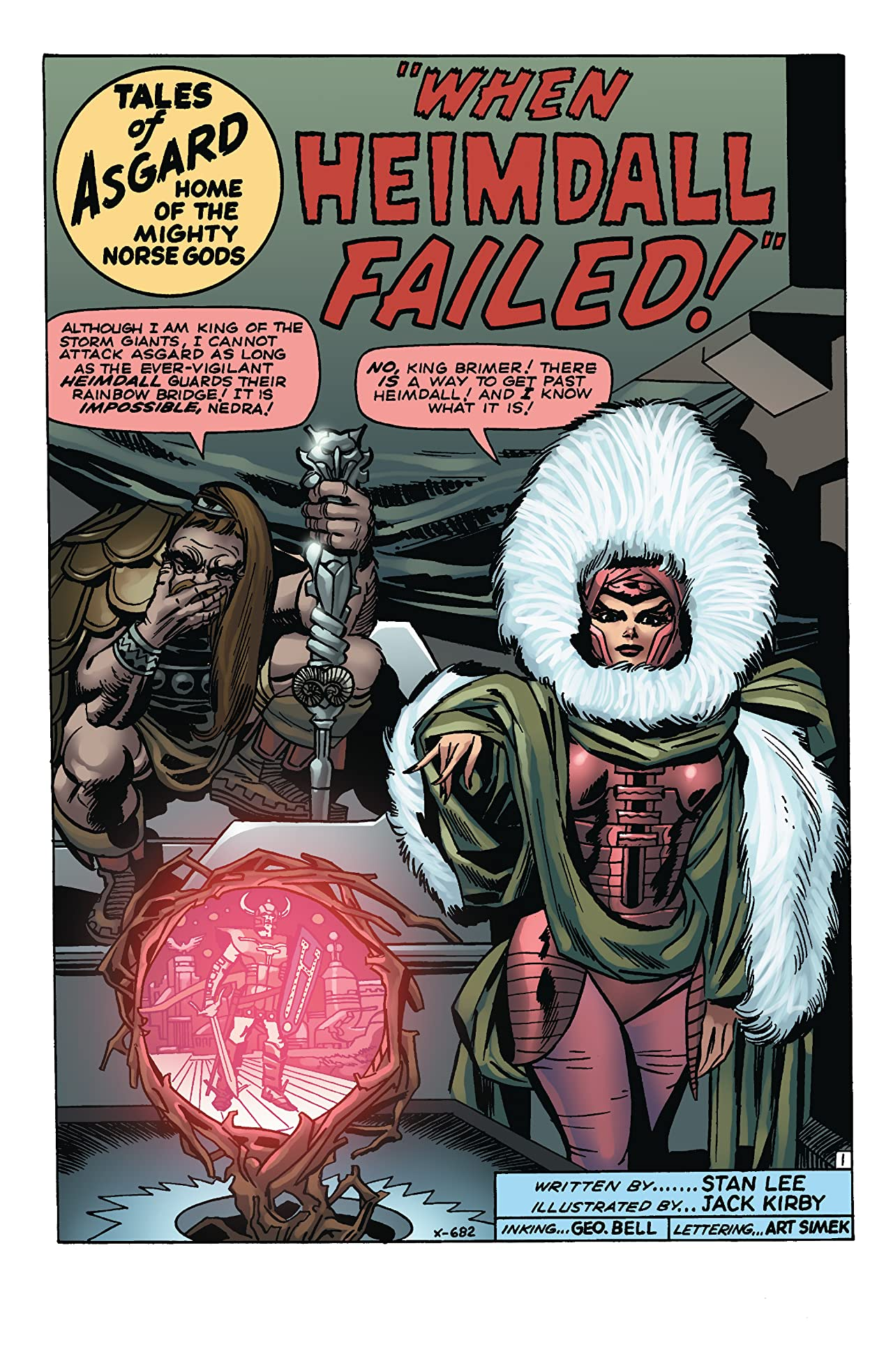 Thor: Tales Of Asgard by Stan Lee & Jack Kirby (2009) #2 (of 6)