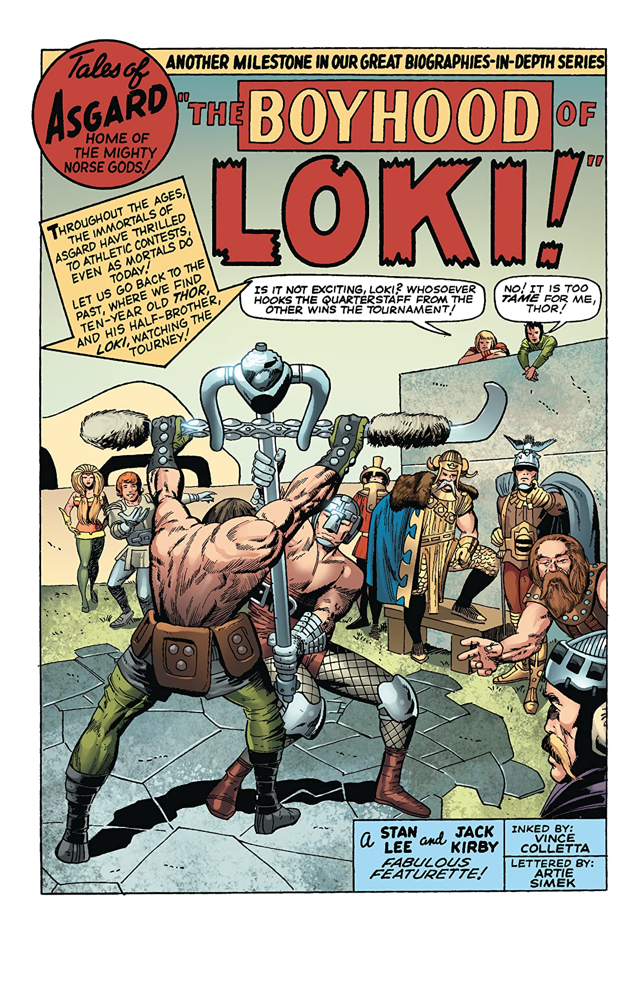 Thor: Tales Of Asgard by Stan Lee & Jack Kirby (2009) #3 (of 6)