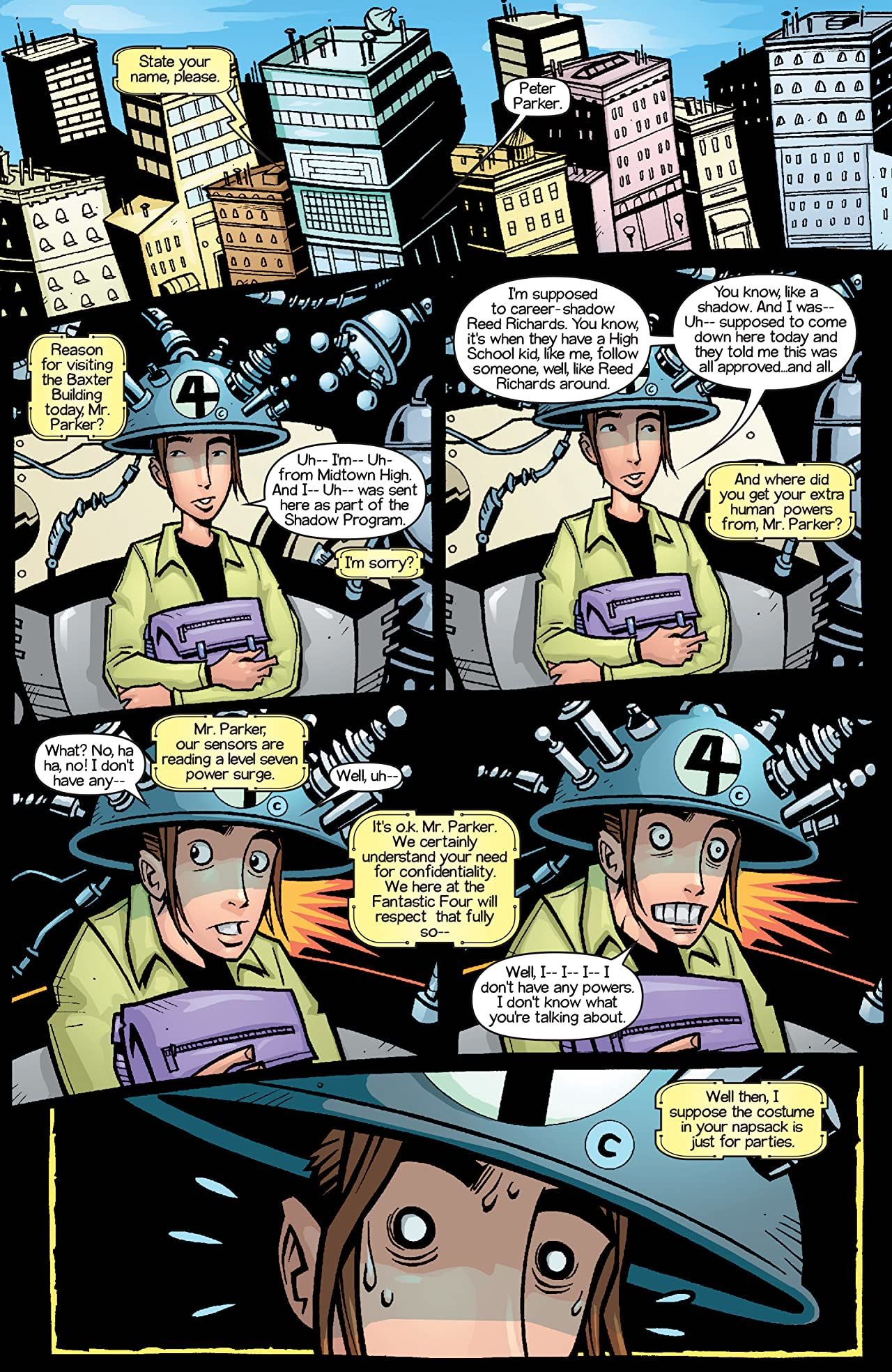 Ultimate Marvel Team-Up (2001-2002) #9
