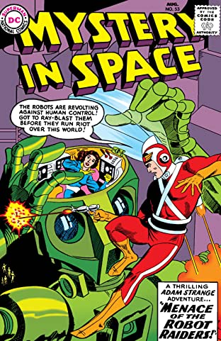 Mystery in Space (1951-1981) #53-56