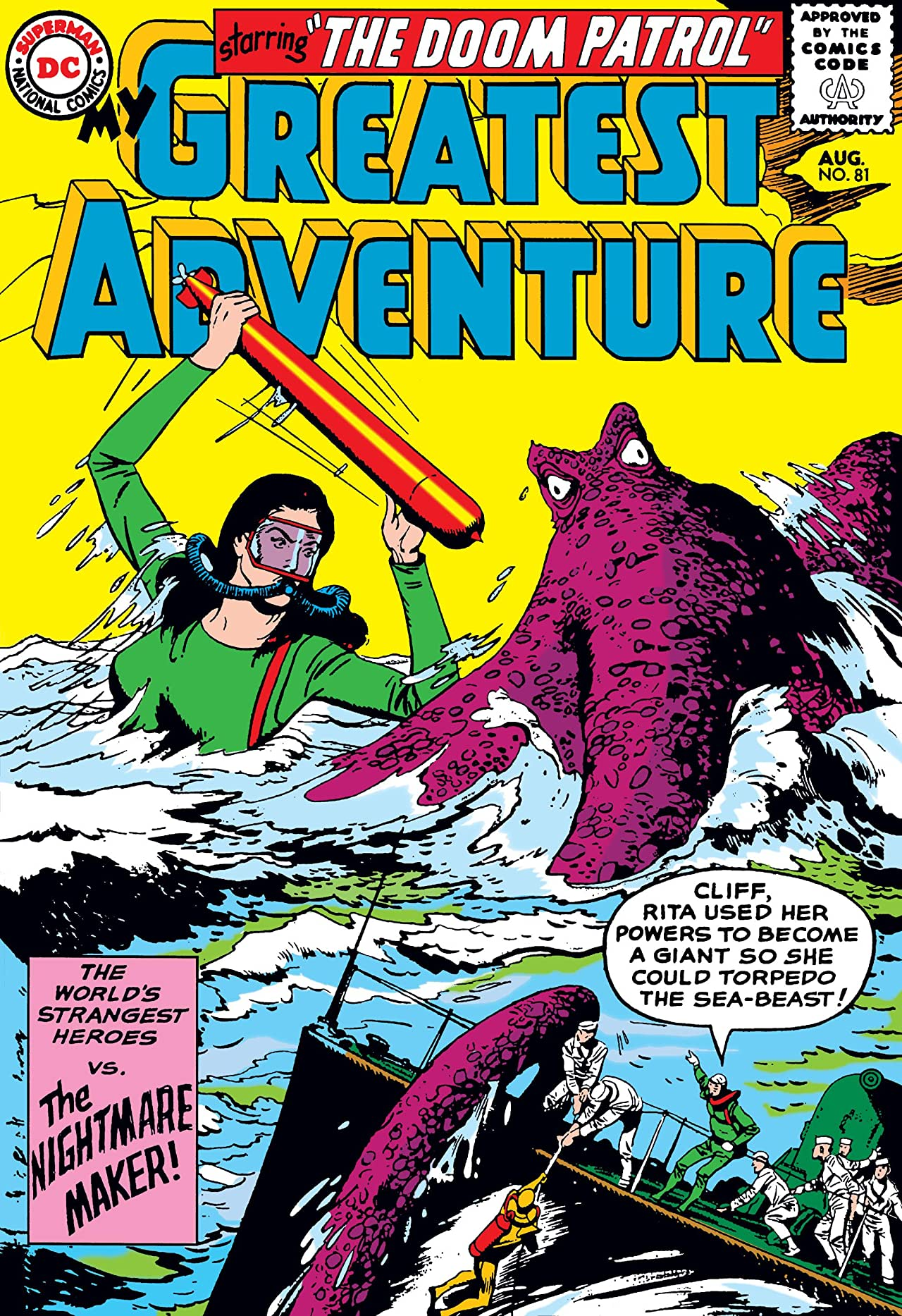 My Greatest Adventure (1955-1964) #81
