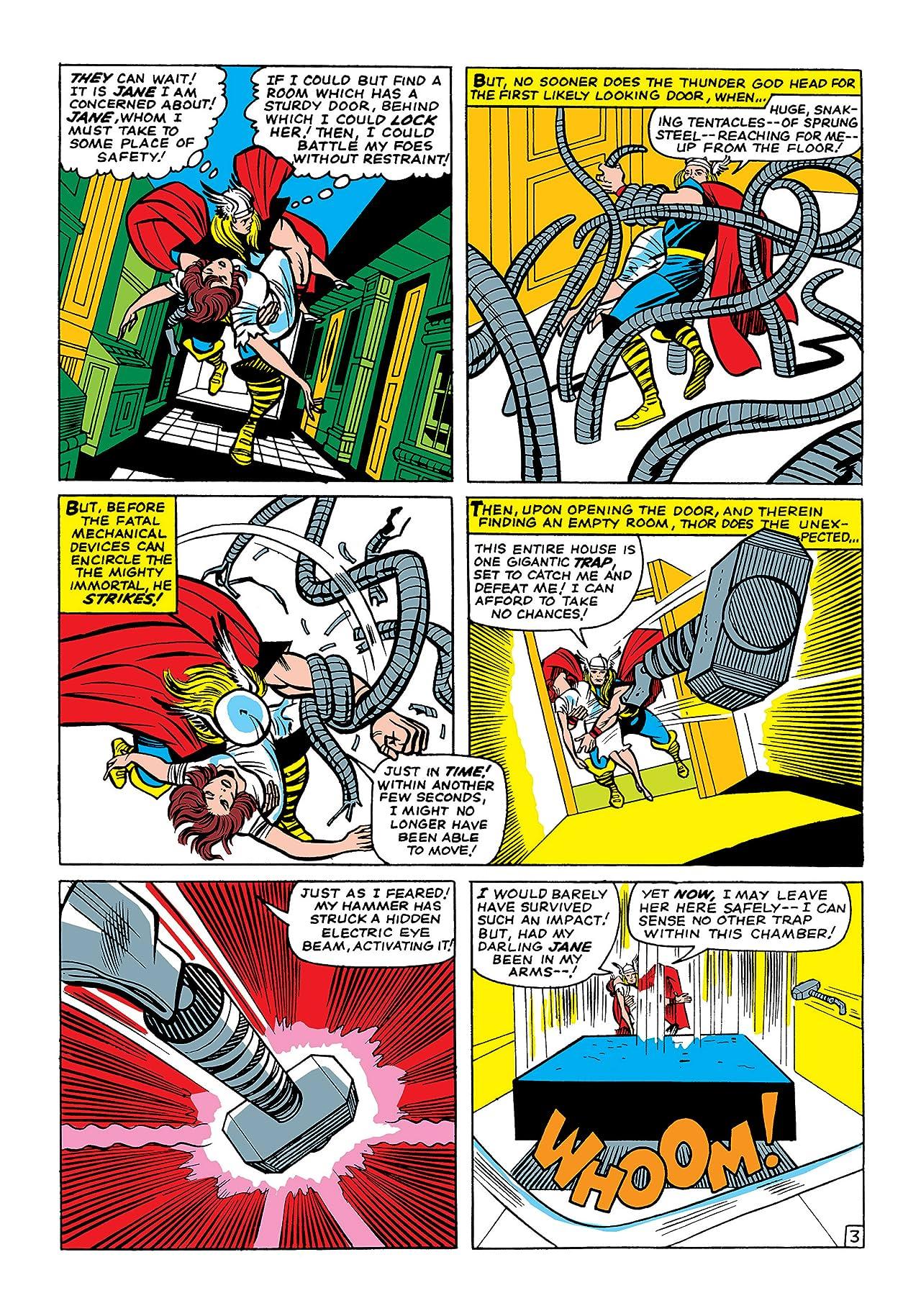 3 Thor Masterworks Vol