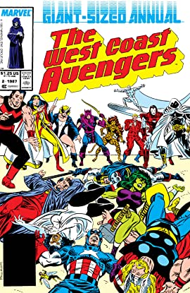 Avengers West Coast (1985-1994) Annual #2