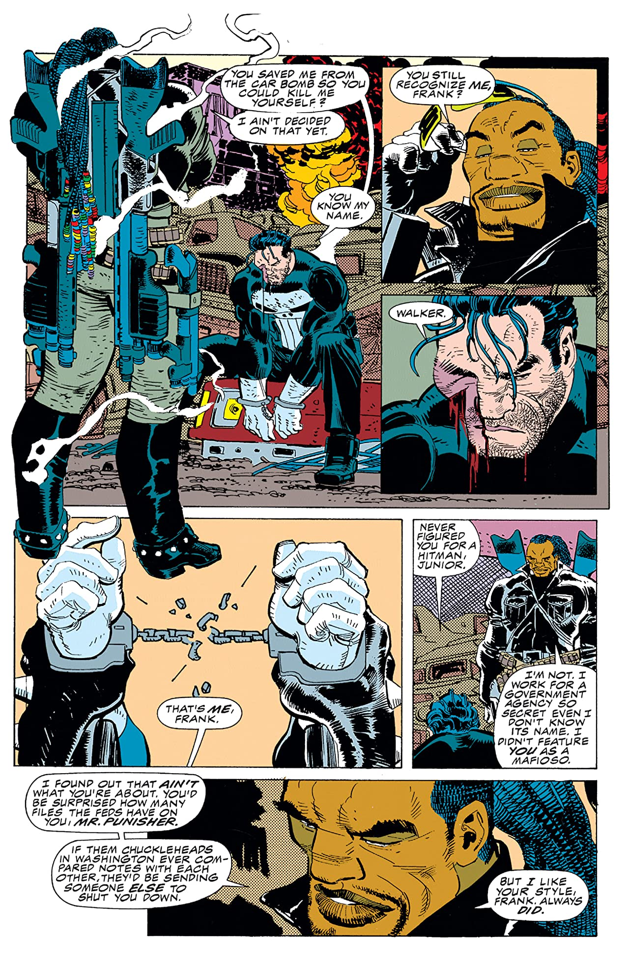 The Punisher: War Zone (1992-1995) #5