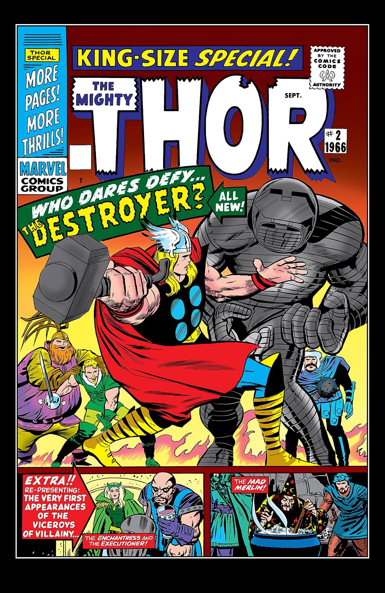Thor (1966-1996) Annual #2