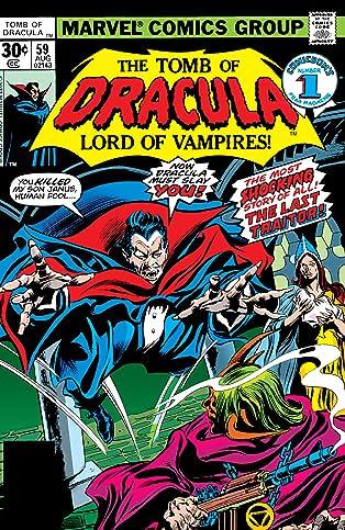 Tomb of Dracula (1972-1979) #59