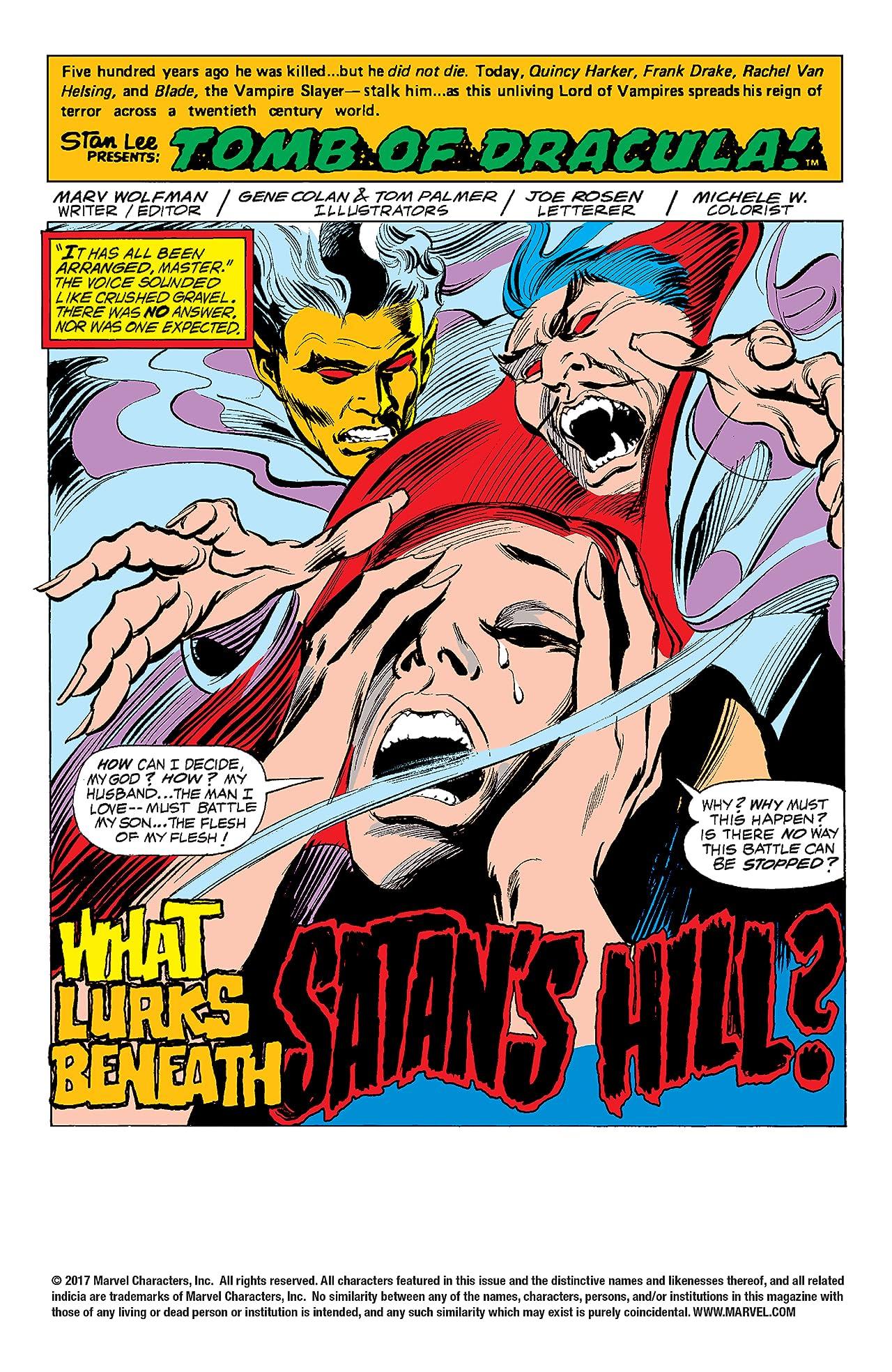 Tomb of Dracula (1972-1979) #62