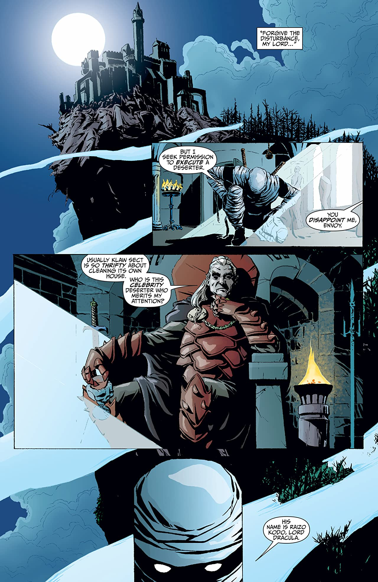 Tomb of Dracula Presents: Throne of Blood (2011) #1
