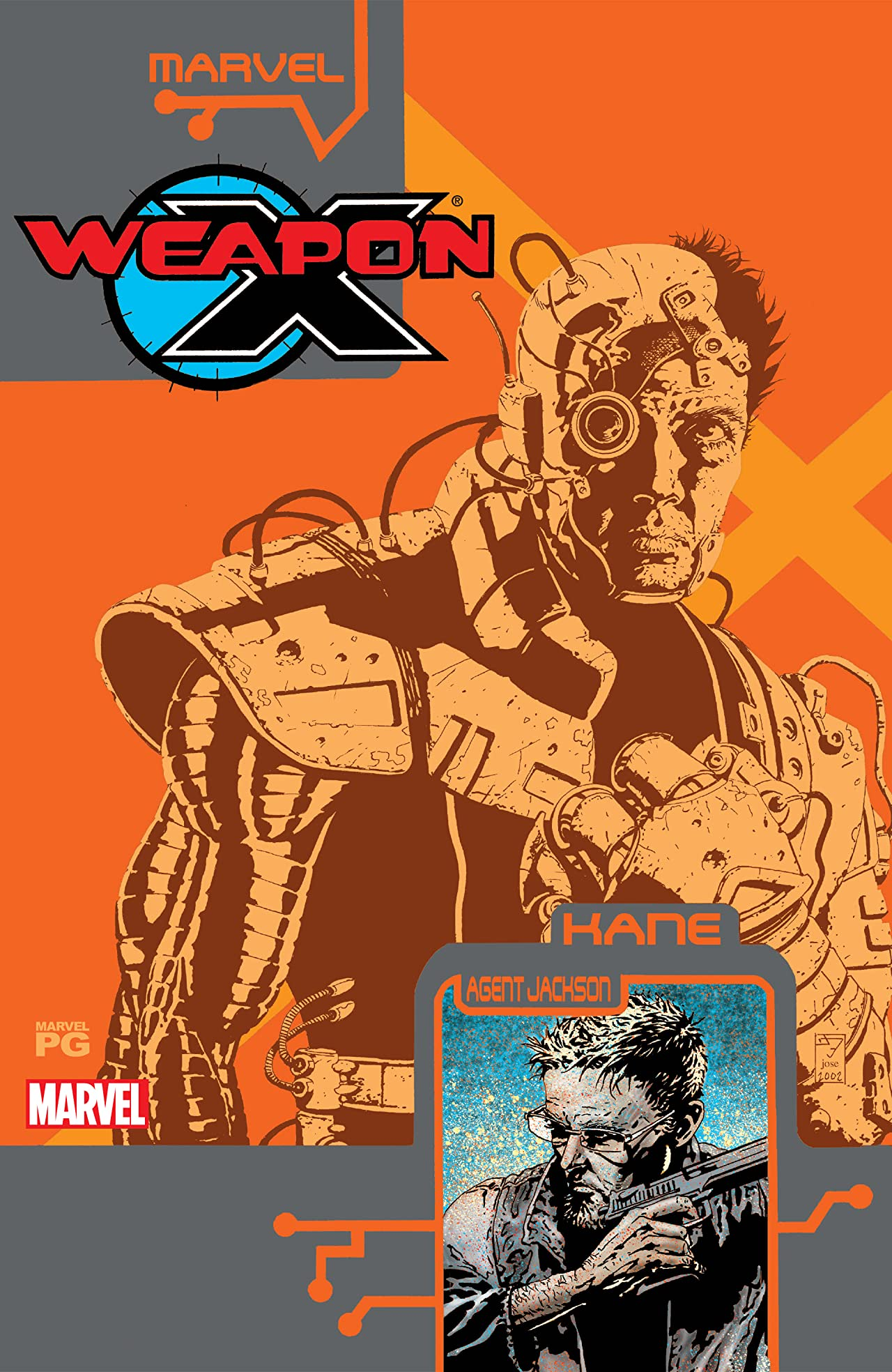 Weapon X: The Draft - Kane (2002) #1