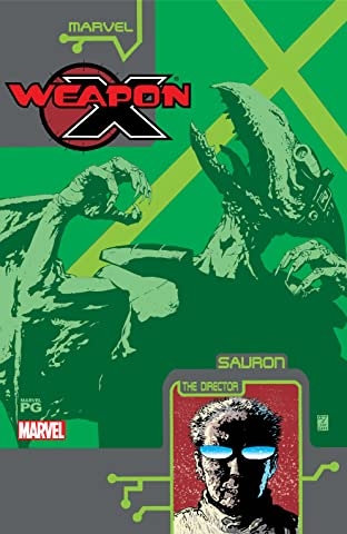 Weapon X: The Draft - Sauron (2002) #1