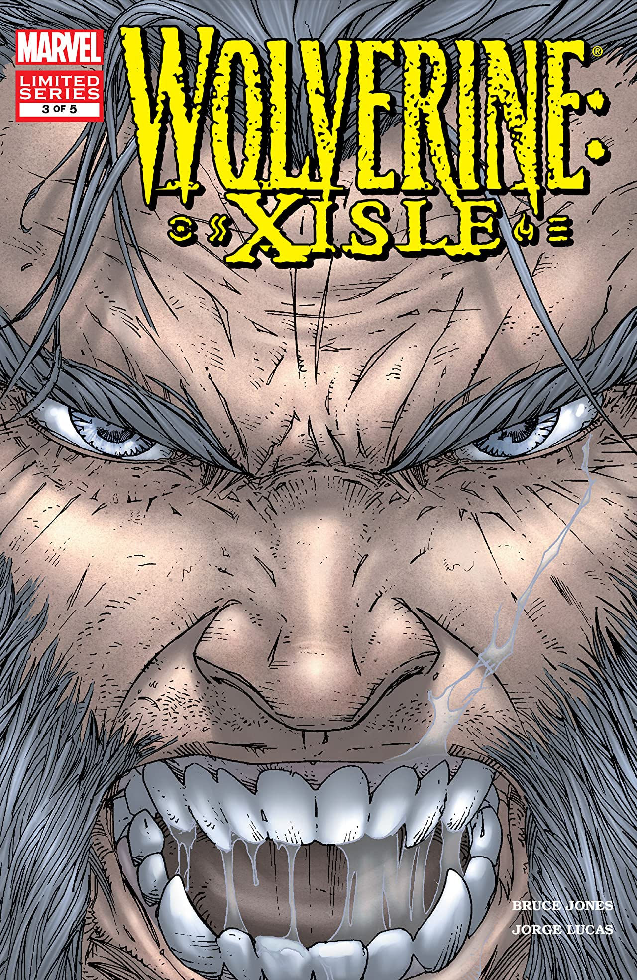 Wolverine: XISLE (2003) #3 (of 5)