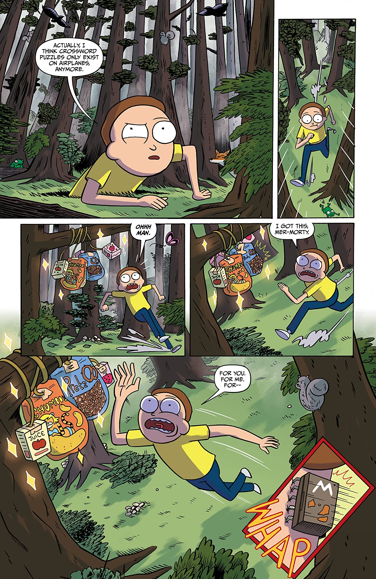 Rick and Morty: Pocket Like You Stole It #1 (of 5)