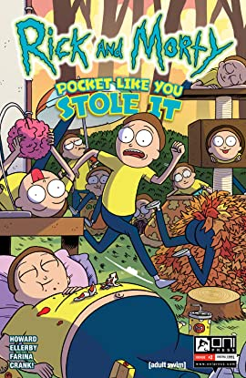 Rick and Morty: Pocket Like You Stole It #2 (of 5)