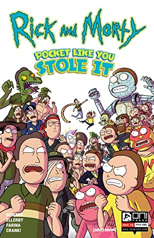 Rick and Morty: Pocket Like You Stole It No.3 (sur 5)