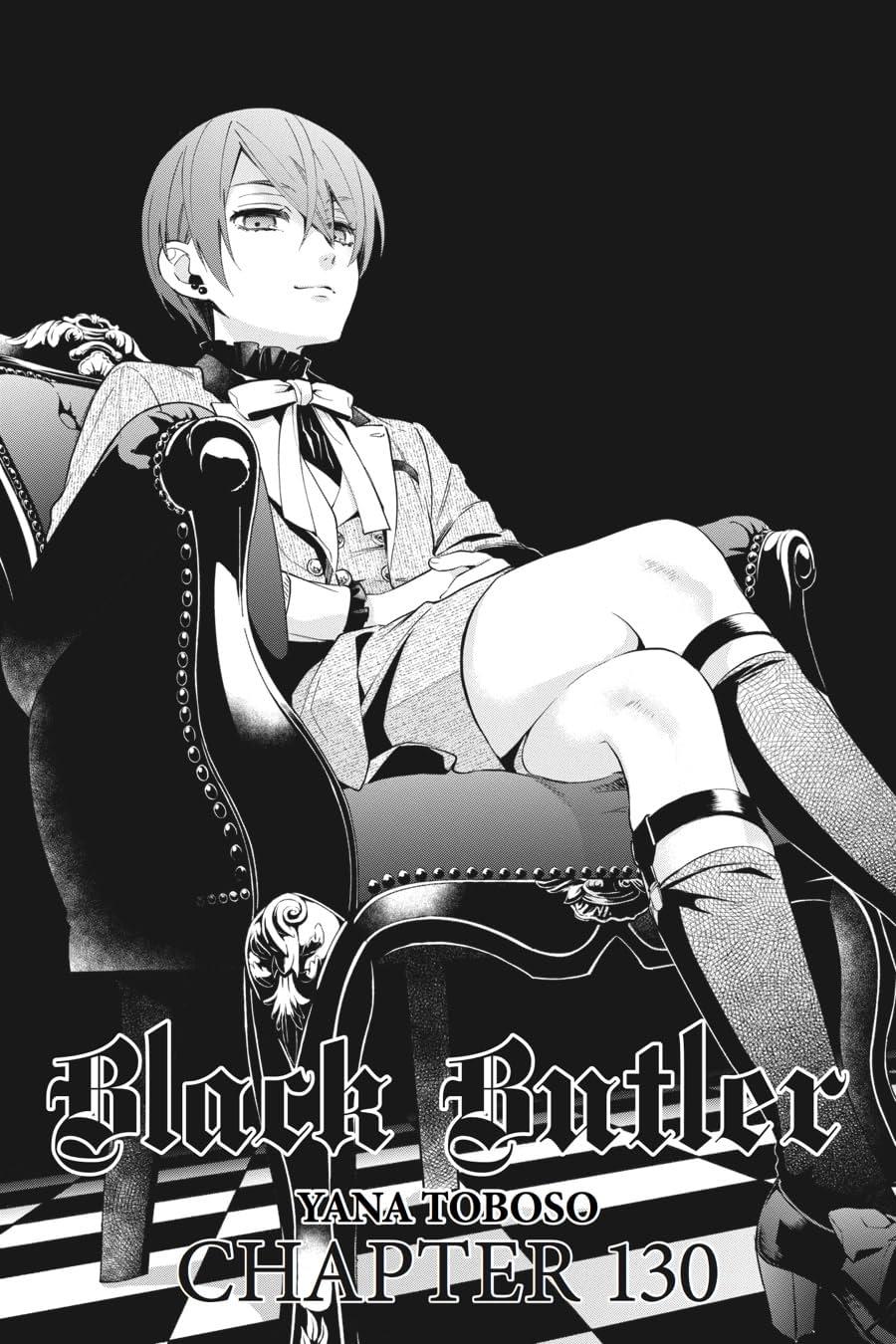 Black Butler #130